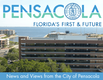 Pensacola downtown newsletter header