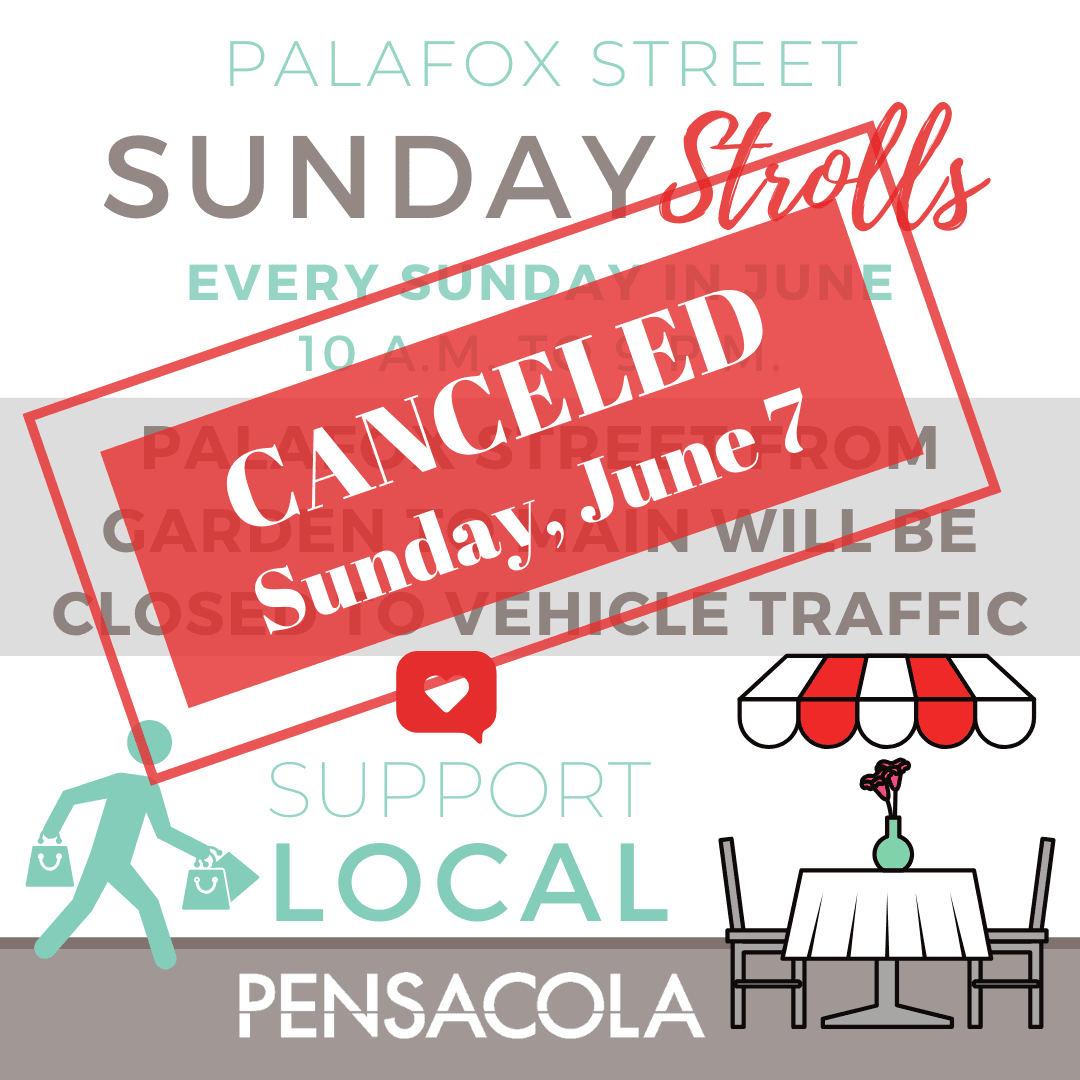 Palafox Sundays cancel