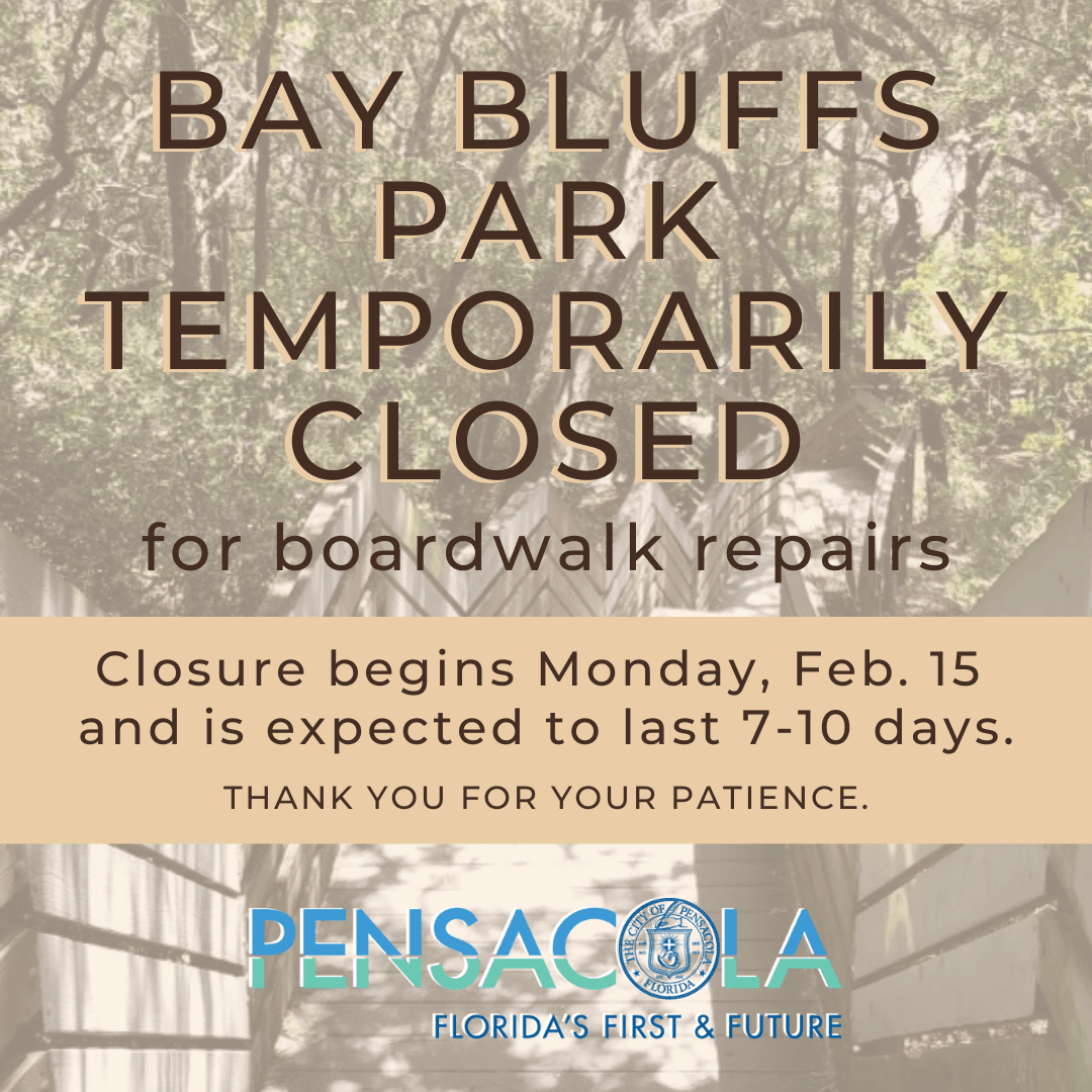 Bay Bluffs Park closure