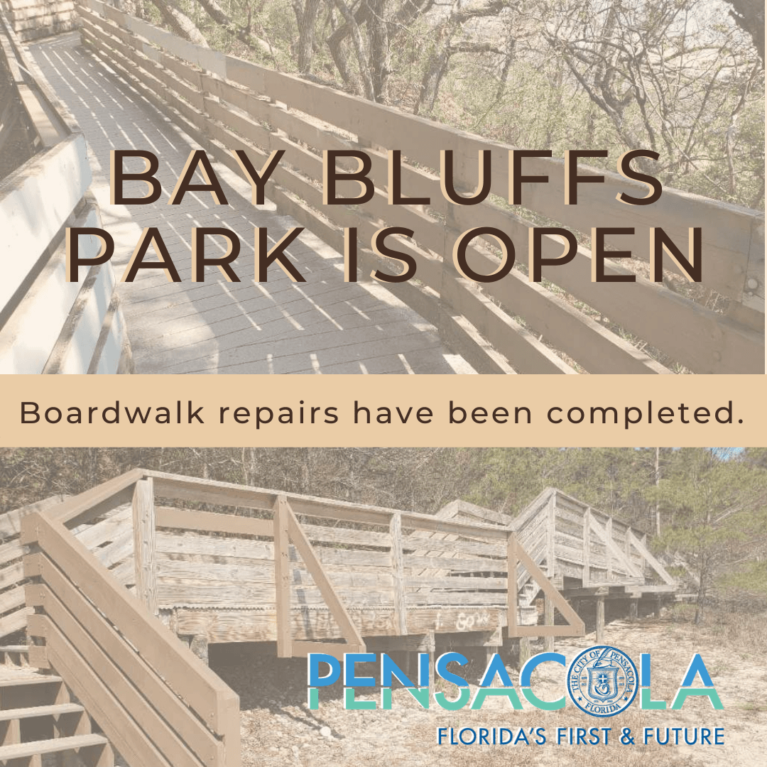 Bay Bluffs Park reopen