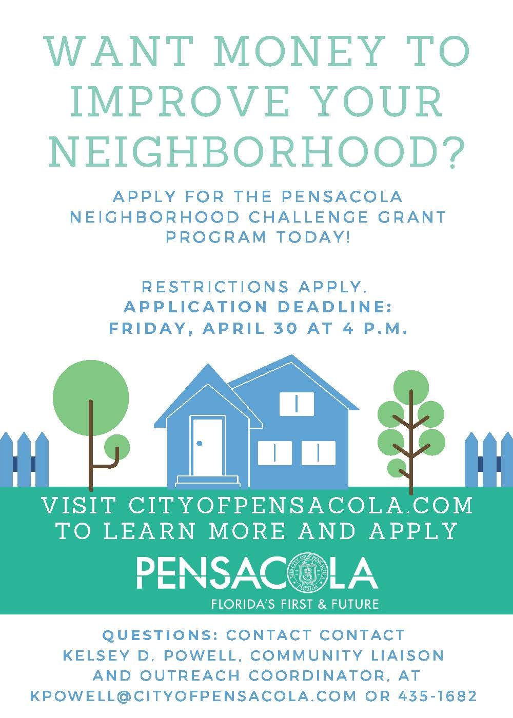 Neighborhood challenge grant program