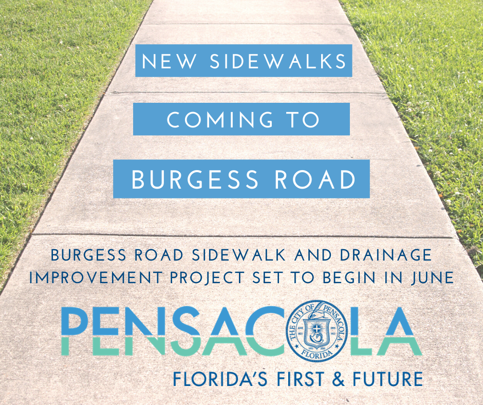 Burgess Road Sidewalks