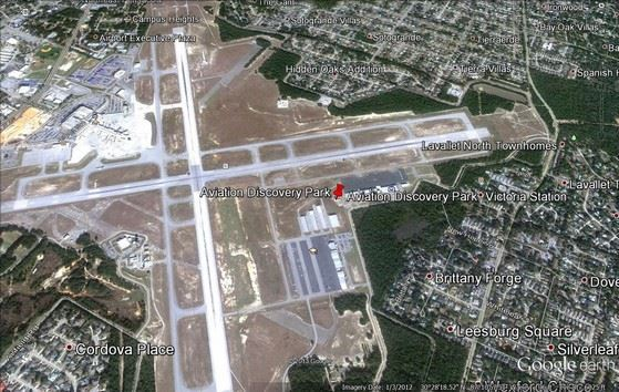 Aviation Discovery Park Map