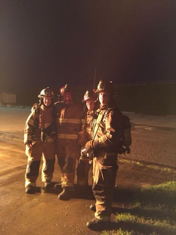 Station #4 Fire Practice