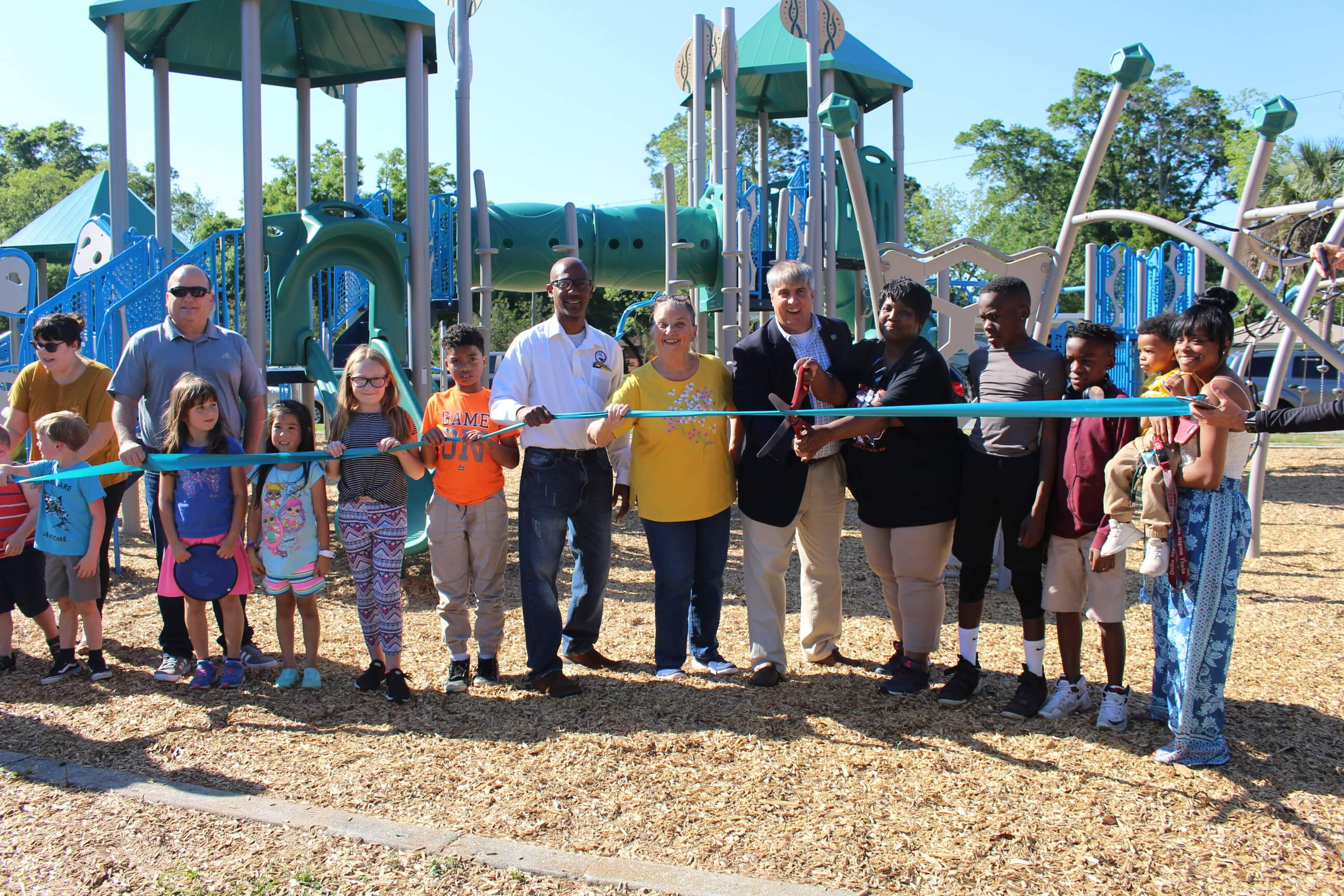 Armstrong Park Playground Ribbon Cutting